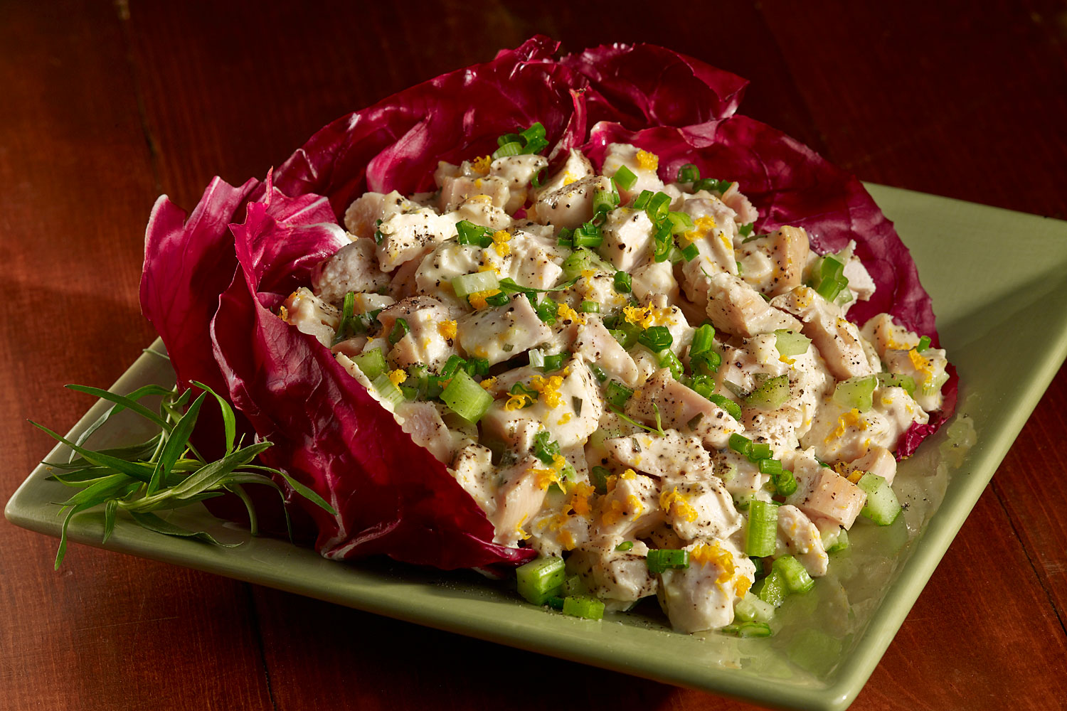 Summery Lemon Tarragon Chicken Salad