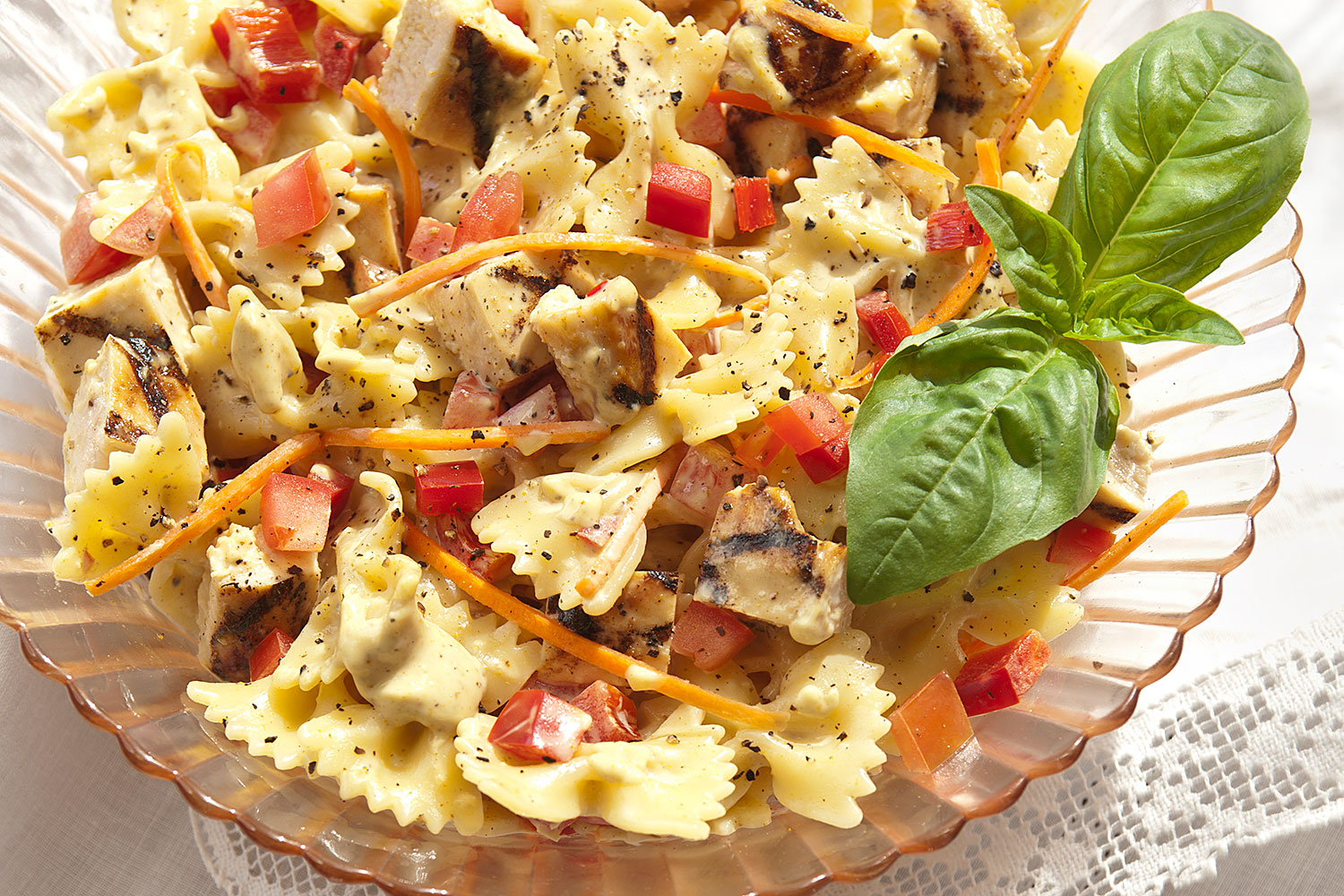Chicken And Bowtie Pasta Salad