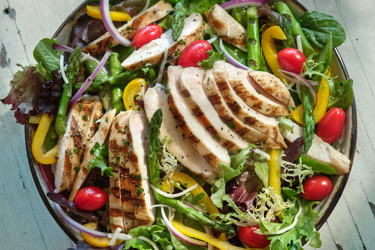 Grilled Chicken Salad - BRIANNAS Salad Dressings